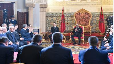 الأنشطة الملكية - صاحب الجلالة الملك محمد السادس يترأس حفل توقيع الاتفاقية الإطار لإنجاز البرنامج الوطني للتزويد بالماء الشروب ومياه السقي 2020-2027