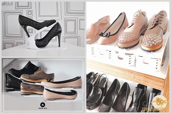 Los shoe wiz son ideales para organizar los zapatos sin que se deterioren y sin ocupar espacio extra