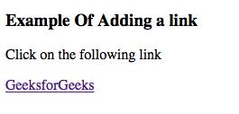 penggunaan link pada html untuk menuju ke laman atau alamat web lain