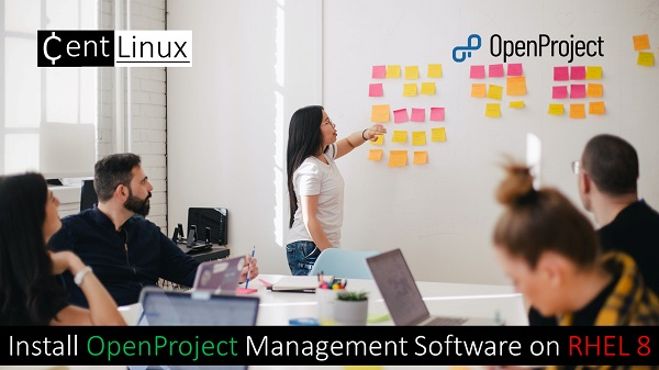 Install OpenProject Management Software on RHEL 8