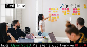 Install OpenProject Management Software on CentOS / RHEL 8