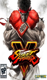 Street Fighter V PC cover 2016 - Street Fighter V-RELOADED