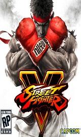 Street Fighter V PC cover 2016 - Street Fighter V-RELOADED