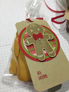 Cookie Cutter Treat Bag Stampin Up. Team swaps