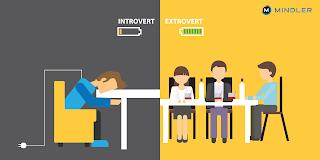 Extrovert versus Introvert.