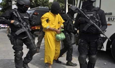 gambar Detasemen Khusus 88 atau Densus 88 milik kepolisian Indonesia