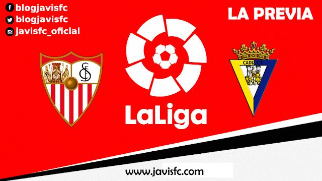 Previa Sevilla FC - Cádiz
