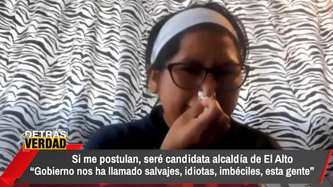 Eva Copa quiere ser candidata del MAS a la alcaldía de El Alto