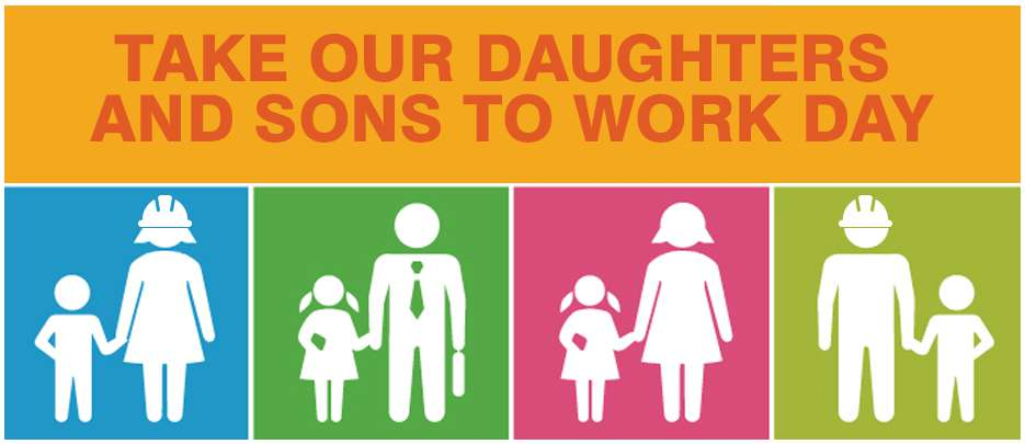 Take Our Daughters and Sons to Work Day Wishes Beautiful Image