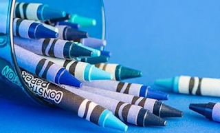 Crayola's Blue Shade