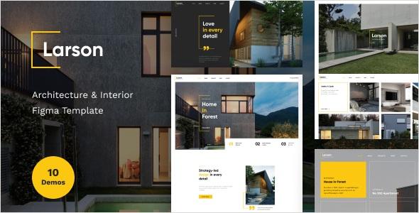 Best Architecture & Interior Figma Template