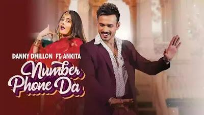 Jung Sandhu - Number Phone Da Song Lyrics in hindi