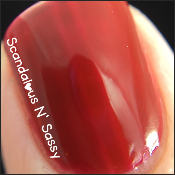 Lacquer Lust Winter Berry macro