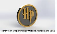 HP Prison Department Warder Admit Card