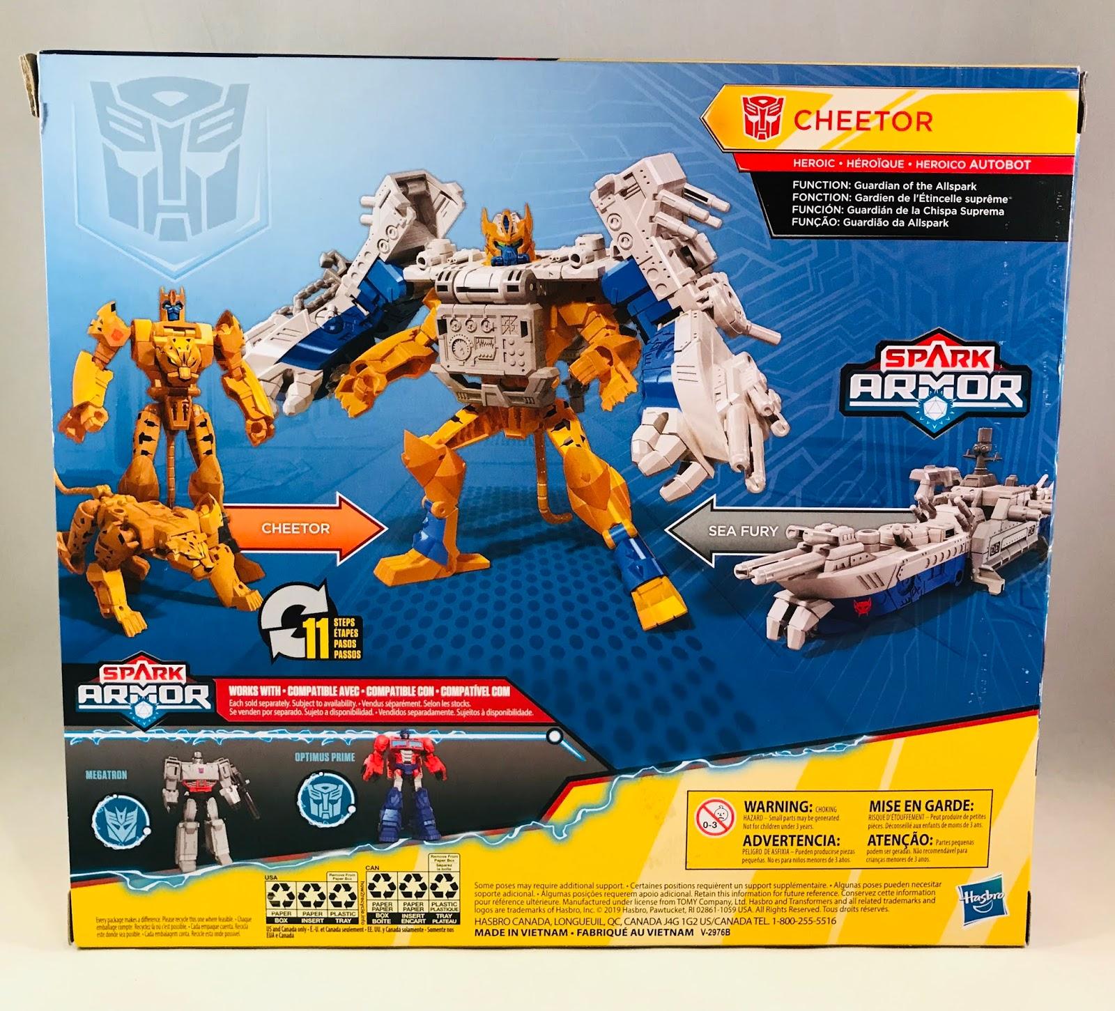 Transformers Cyberverse Cheetor With Sea Fury