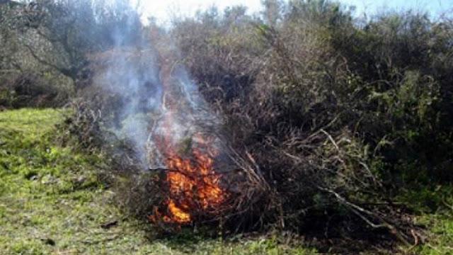 Πρόστιμα από την Πυροσβεστική στο Κρανίδι για καύσεις χωρίς άδεια