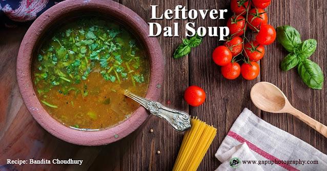 Leftover Dal Soup