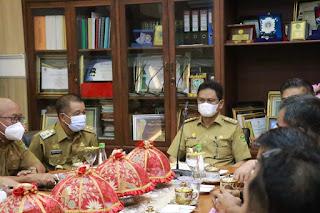 Hari Kerja Perdana, Bupati/Wabup Barru Coffee Morning Bersama Perangkat Daerah