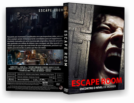 CAPA DVD – Escape Room – DVD-R TS – CINEMA