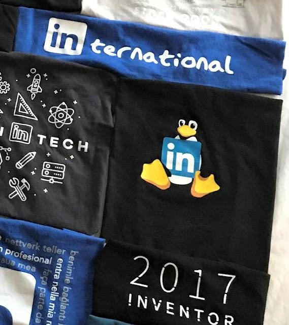 LinkedIn quilt