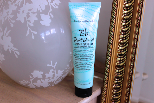 Bumble and Bumble Don't Blow It Hair Styler review blog rosy cherrington girl culture