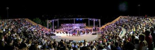 Μάγεψε η Συμφωνική Ορχήστρα Νέων Ελλάδος στον Πολύγυρο Χαλκιδικής