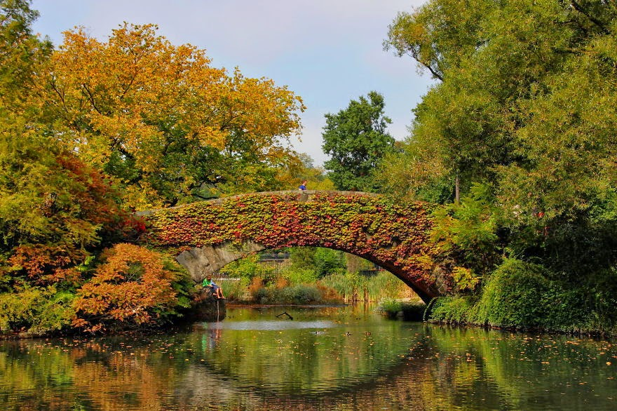 Gapstow Bridge, New York, USA - 20 Mystical Bridges That Will Take You To Another World
