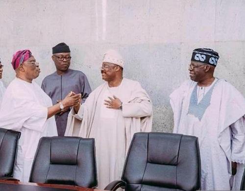 PHOTOS: When Tinubu, Reunites With Amosun, Fashola, Fayemi, Other Estranged 'godsons' At Ibadan; What Actually Discussed Revealsed