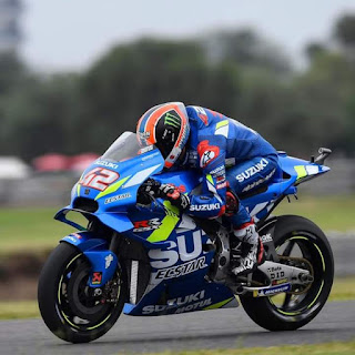 Alex Rins in the latest round of the MotoGP!