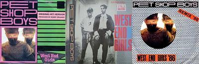 Pet Shop Boys West End Girls kiadások