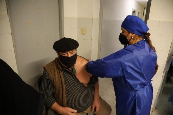 San Rafael: continúa la campaña de vacunación contra la COVID-19 en los distritos