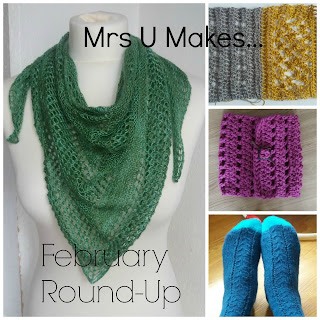 Mrs U Makes...February Round-Up #mymrsumakes @mrsumakes
