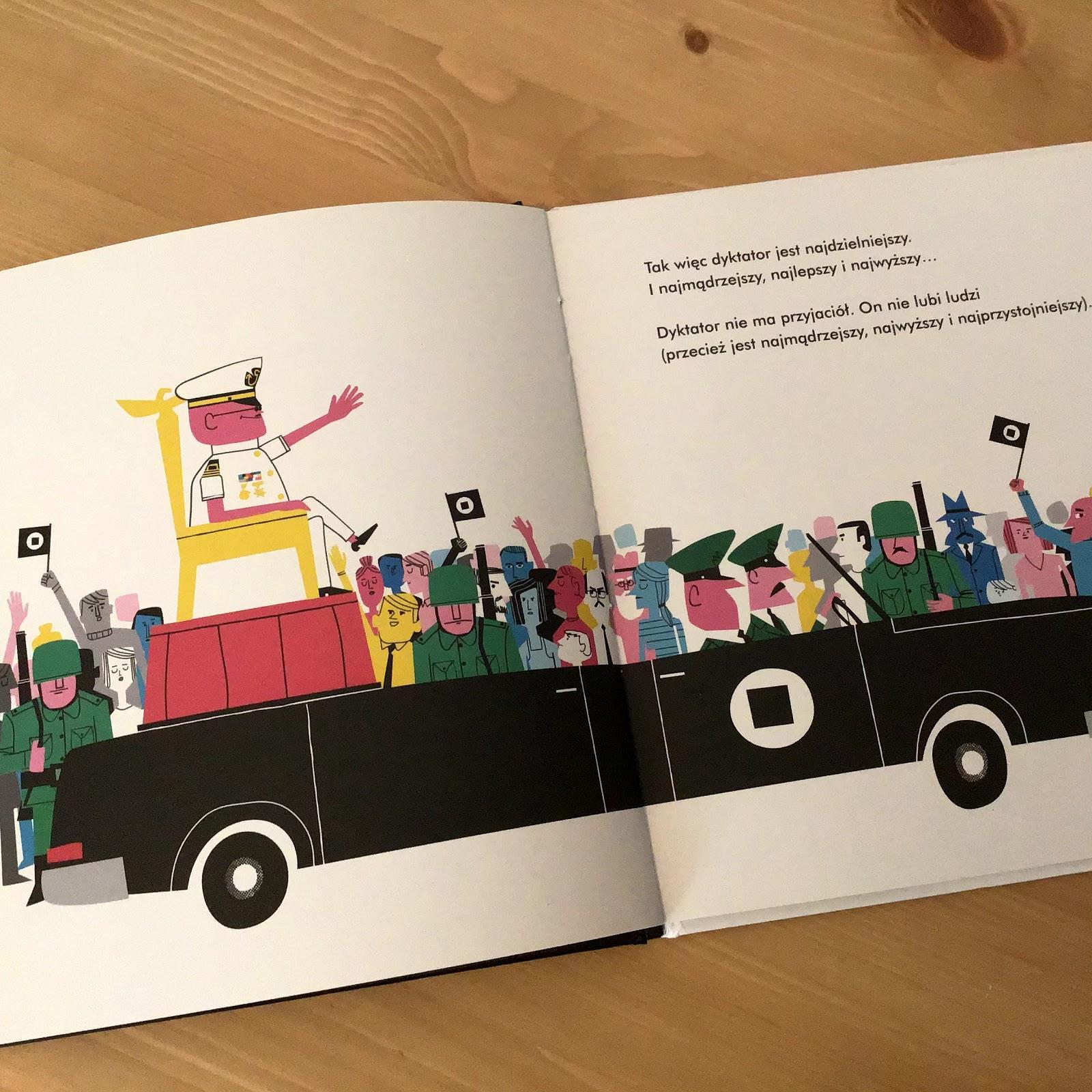 """""""Oto jest dyktatura"""" Equipo Plantel, Tako, Seria Książki jutra o ważnych i trudnych sprawach dla najmłodszych"""