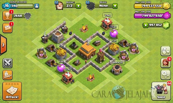 Desain Base Town Hall 3 Terbaik Dan Terbaru Clash Of Clans 16