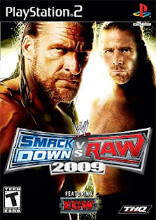 WWE SmackDown vs. Raw 2009 (Europe) PS2 ISO