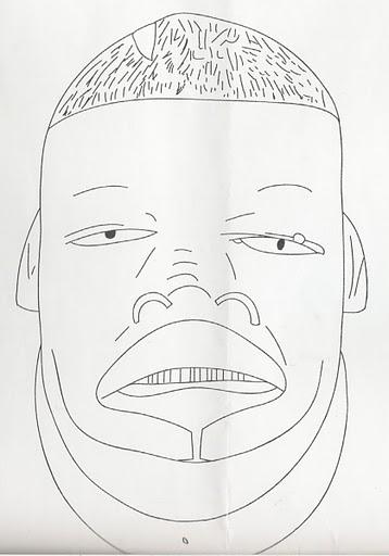 Mascaras Africanas Para Colorir Com A Turma Mascaras Africanas