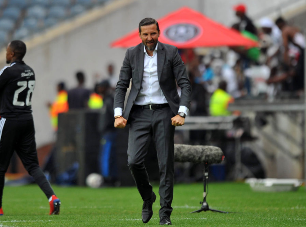 Orlando Pirates head coach Josef Zinnbauer