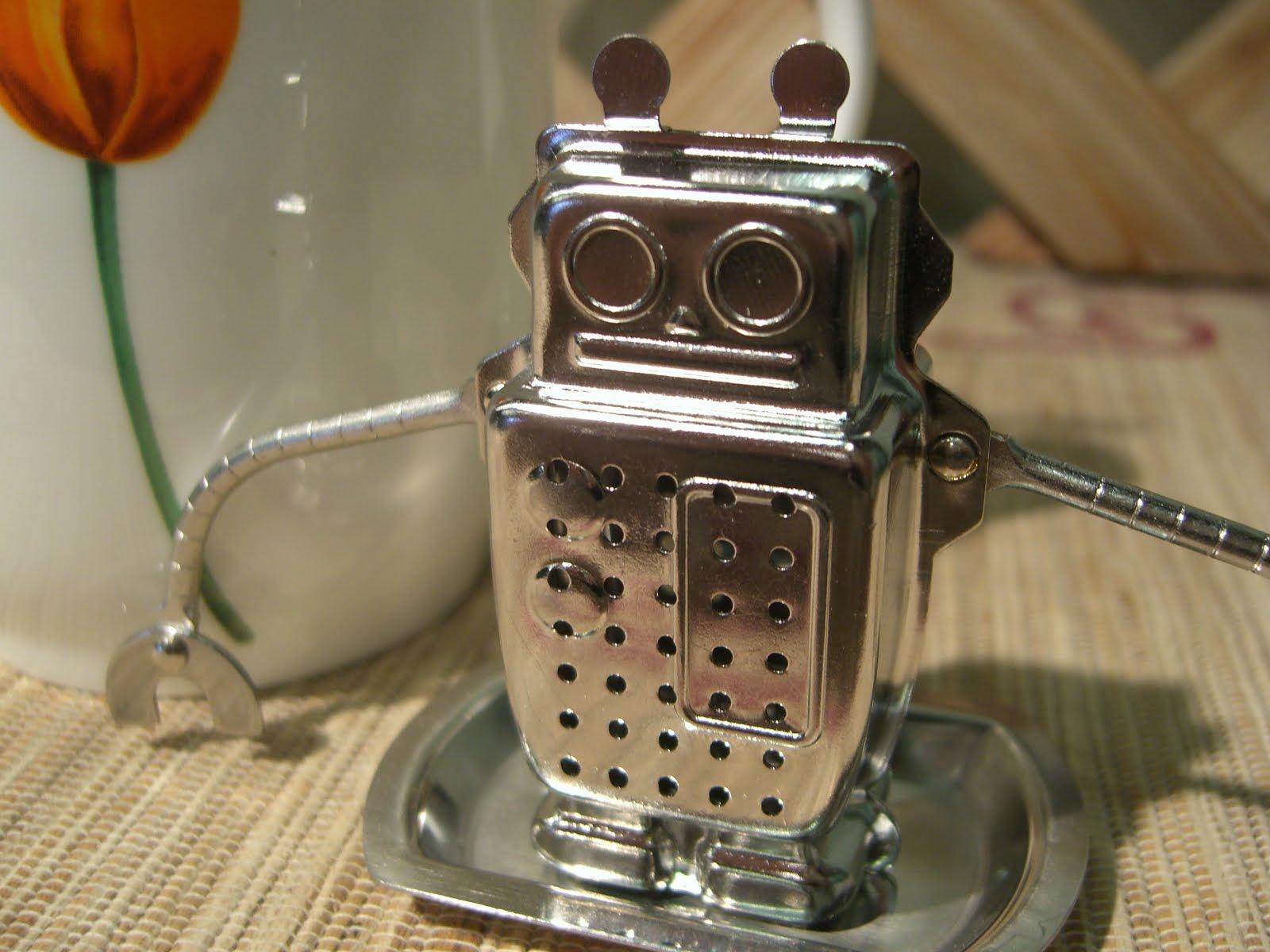 The Perennial Tea Room Hugo The Robot