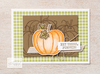 6 Stampin' Up! Harvest Hello Projects ~ 2019 Holiday Catalog