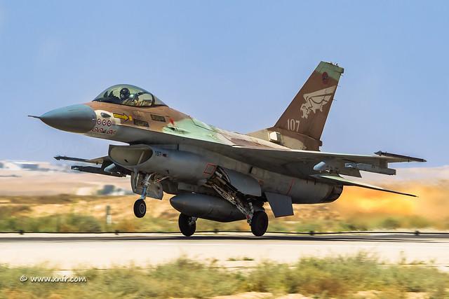 Dari Sekian Banyak F-16 Di Seluruh Dunia, No 107 Milik Israel Adalah Yang Paling Menakjubkan