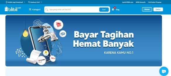 situs belanja online Indonesia terbaik dan terpercaya paling murah