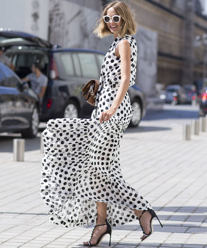 outfit pois street style pois come abbinare i pois tendenze primavera estate 2016 mariafelicia magno fashion blogger fashion blog italiani color block by felym blogger italiane polka dots outfit how to wear polka dots ss trend