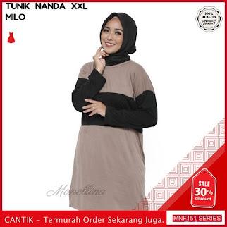 MNF151B73 Baju Muslim Wanita 2019 Nanda Muslim Jumbo 2019 BMGShop