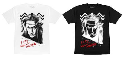 """Twin Peaks """"Fire Walk With Mishka"""" T-Shirt by Lamour Supreme x Mishka"""