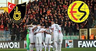 Eskişehirspor vs İstanbulspor Canlı maç izle
