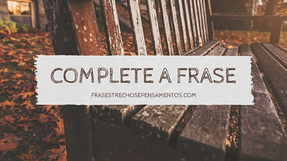 TAG: Complete a Frase O Gabriel Lucas - #OGL