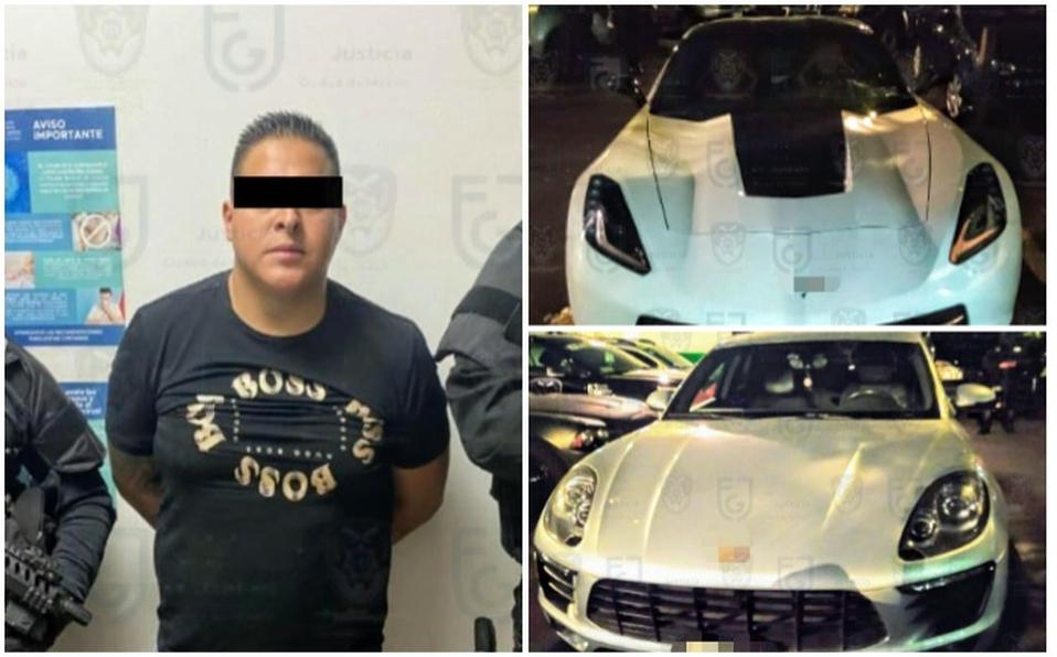 En posesión de un Corvette y Porsche, detienen a 'El Yayo', jefe de Sicarios de la banda 'Los Rodolfos'