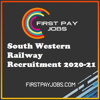 south western railway recruitment 2020-21