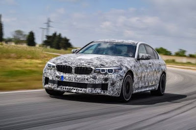 New BMW M5 Only with All-wheel xDrive
