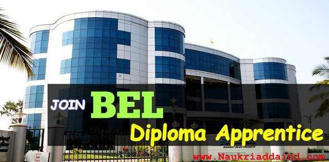 BEL Recruitment Diploma Apprentices Jobs in Ghaziabad